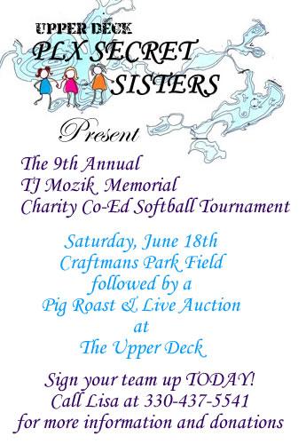 TJ Mozik-Charity Softball Tournament