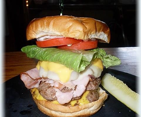 The Decker Burger, a Signature Item!