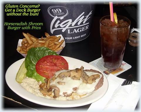 Horseradish Shroom Burger - Gluten Free