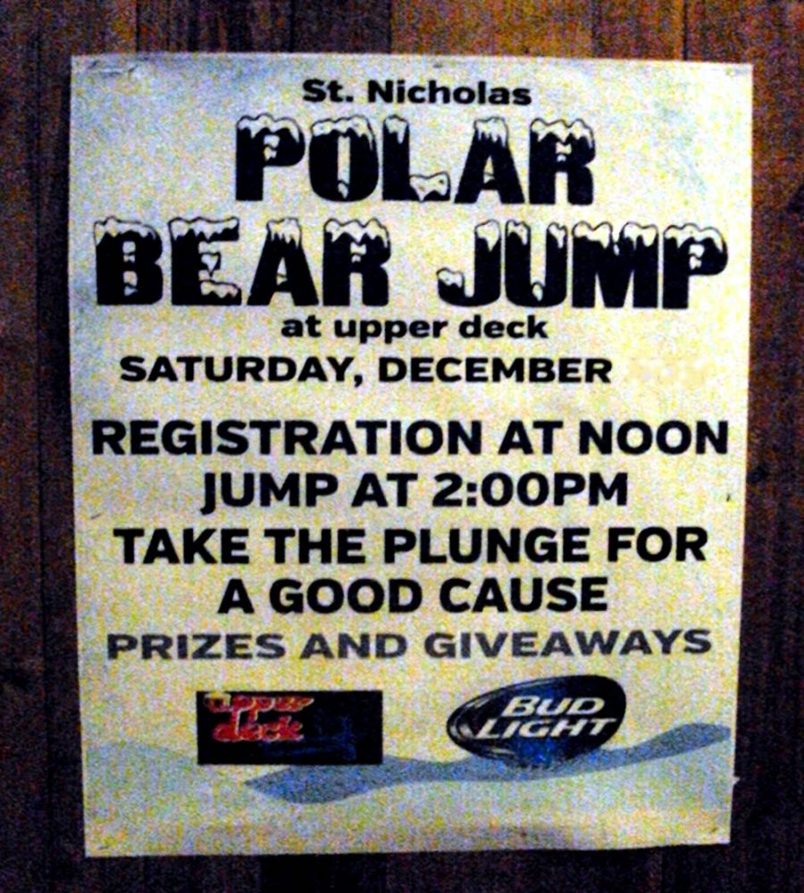 Annual Upper Deck Polar Bear Jump