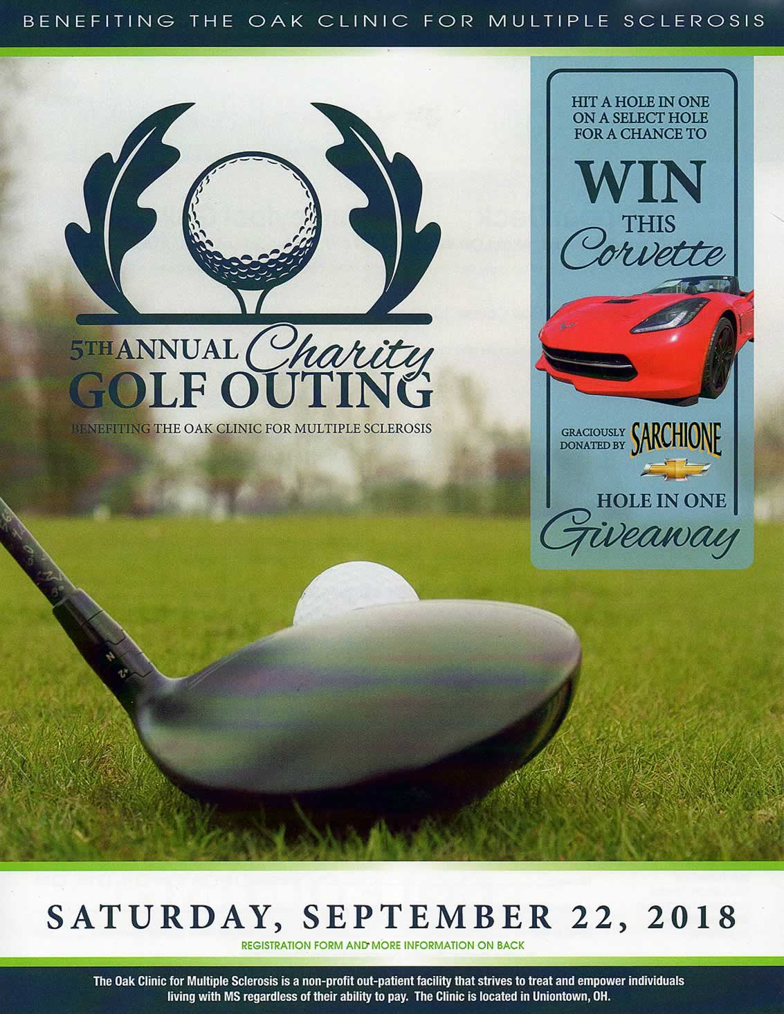 Oak Clinic for MS Golf Outing