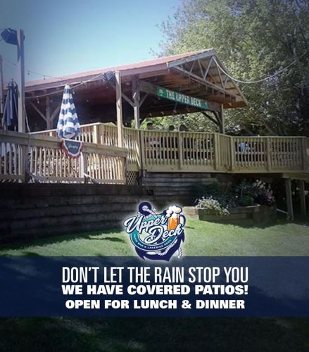 Outdoor Dining at Upper Deck