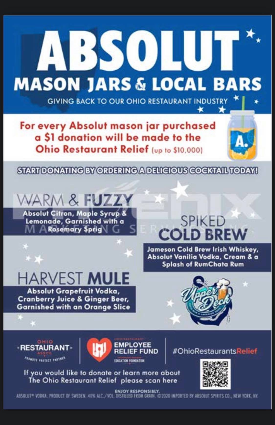 Mason Jars & Local Bars Fundraiser