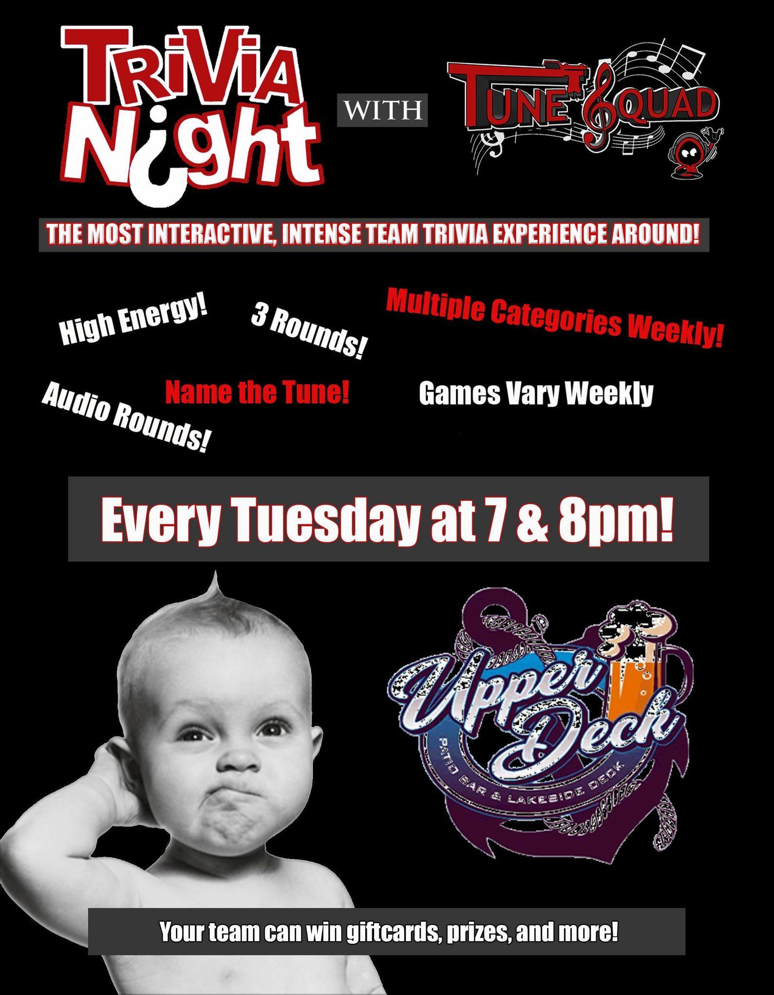 Trivia Night Tuesdays!