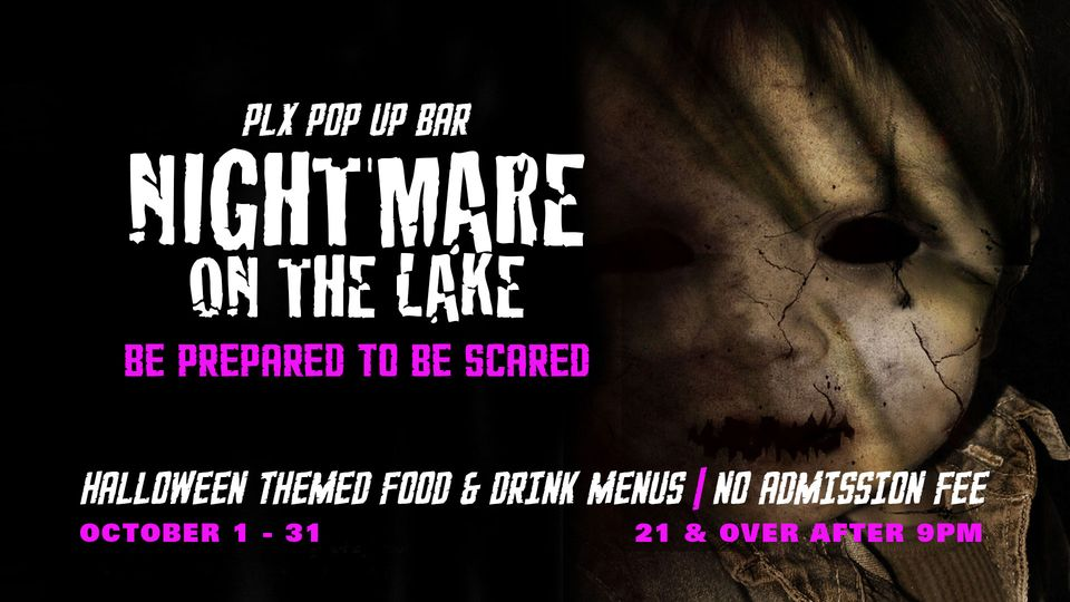 You are currently viewing Nightmare on the Lake Pop-Up Bar